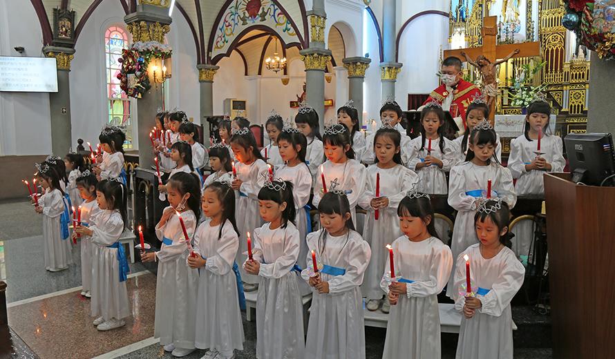 2020慶祝聖誕-聖堂朝拜小耶穌
